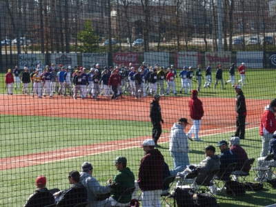 Baseball Camp at Elon University, North Carolina