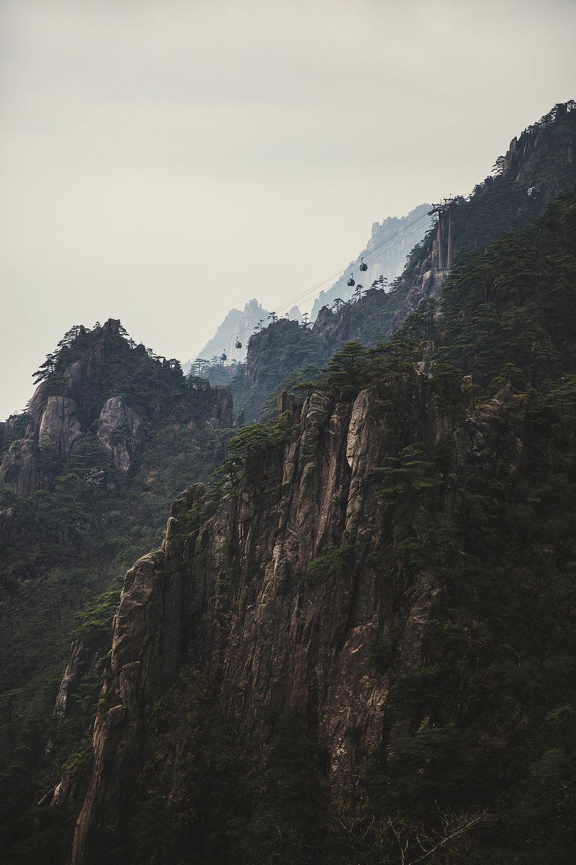 Views of Yuping Cableway