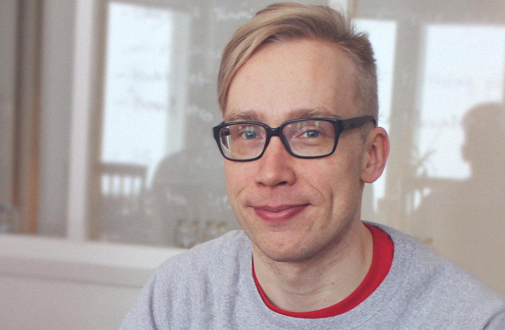 Tommi Toivonen from Mehackit