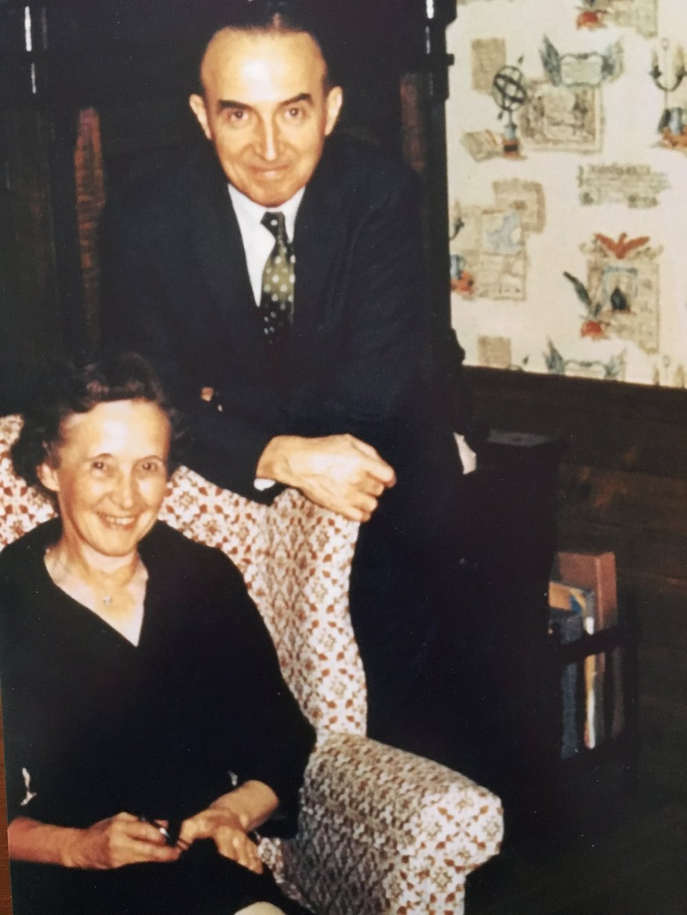 Dr Ralph and Esther Warburton
