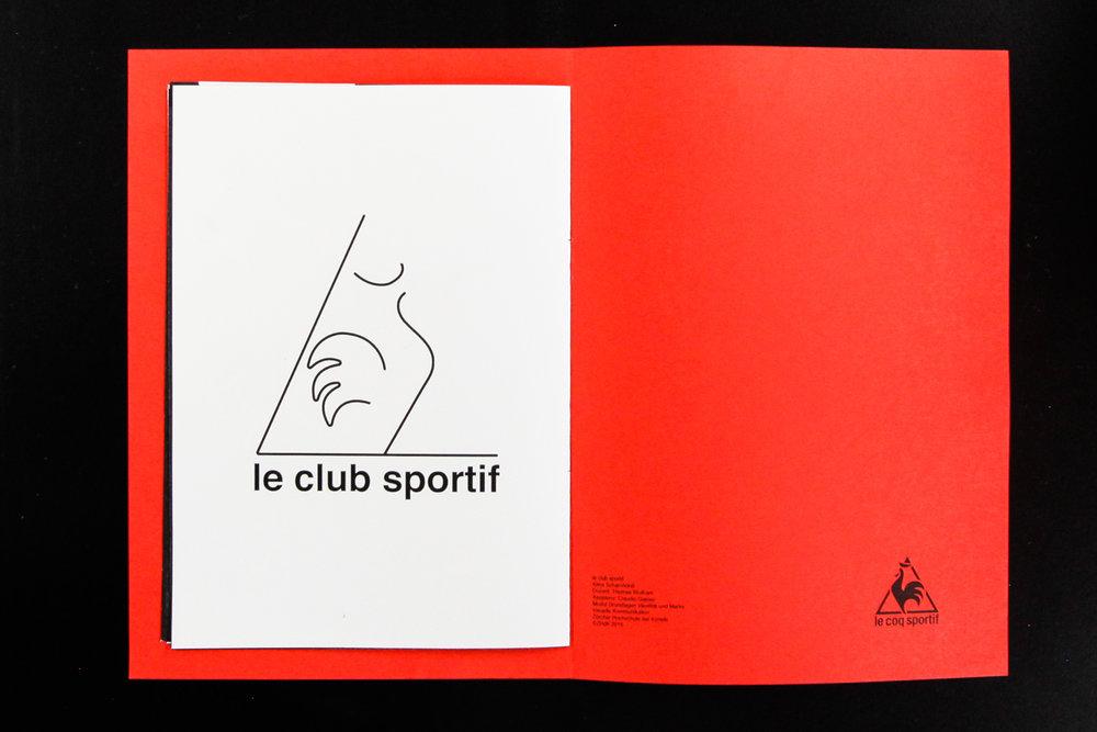 """Brand Zoo   Rebranding von einem existierenden Logo im Rahmen des Moduls """"Identität & Marke"""".Aus der Sportmarke  Le Coq Sportif wird  Le Club Sportif , ein Nachtlokal.Der Entwurfsprozess wird in einem Zine illustrativ und erzählerisch festgehalten.    Dozent: Thomas Wolfram  2016"""