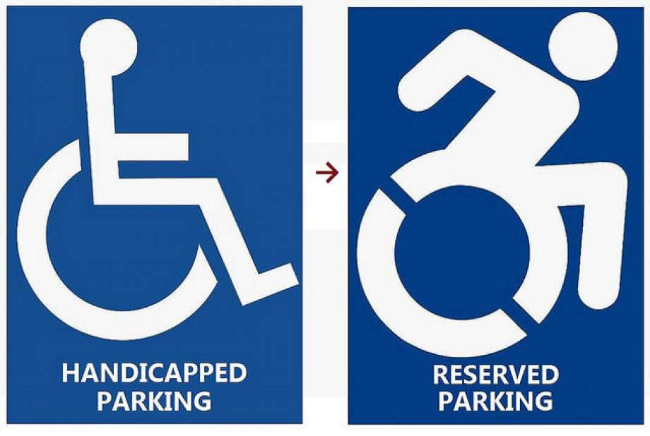 And the lame shall walk, if these new handicapped signs have anything to say about it
