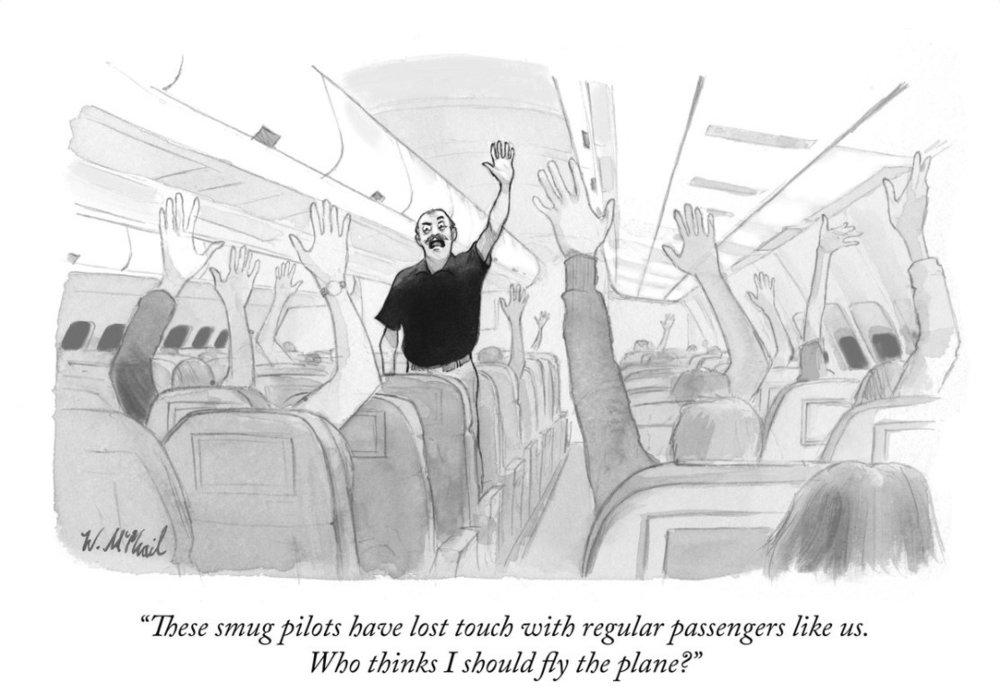 The New Yorker weighs in