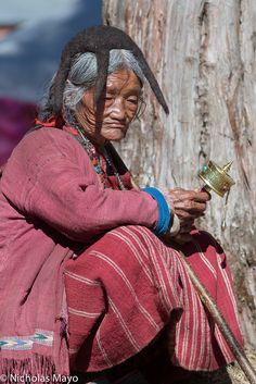 Mrs. Kim Gregg, who identifies as tibetan, mulls life in a fascist, racist police state