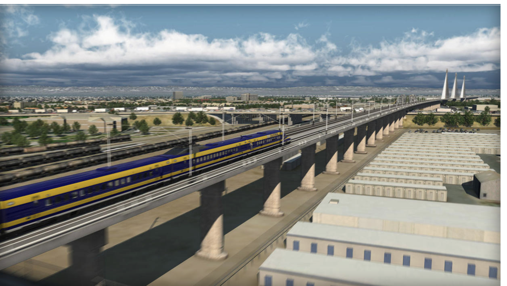 If wishes were horses: architect's vision of what California's bullet train will look like, when beggars can ride
