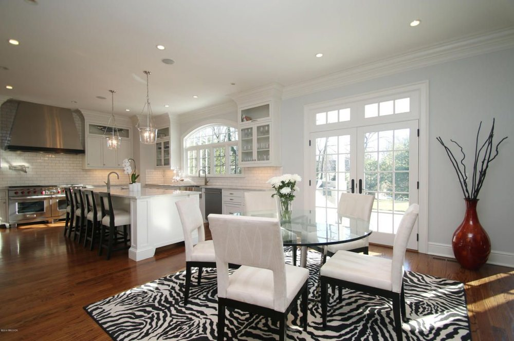 Speaking of taste, here's a little-known fact: while there are 316 staging professionals working in Greenwich, there'sonly one zebra rug to share between them, so the rug you see today may not be there tomorrow.  But you're guaranteed to see it somewhere around town