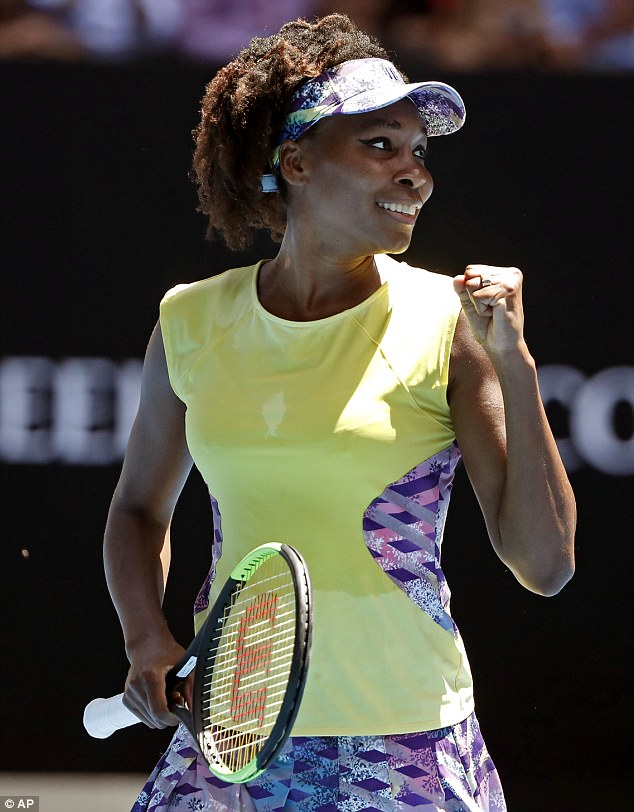 Venus Williams. Looks GORGEOUS to me but then, I'm not a New York Times subscriber