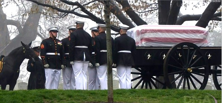 John Glenn is interred at Arlington