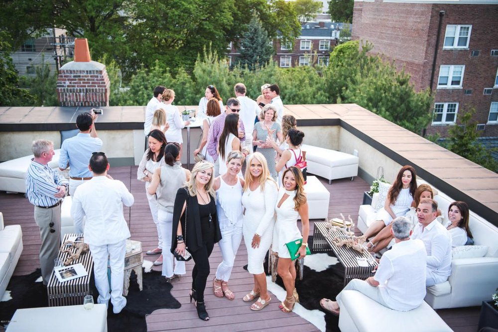 How much is the opportunity to throw a  rooftop white party actually worth?
