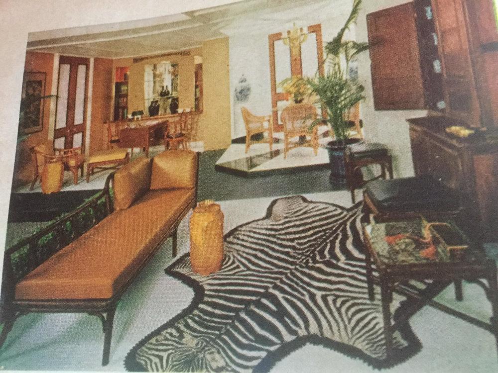 "Zebra, orange, but where's ""The Chair""?"