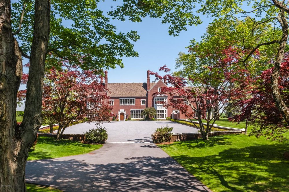 Leona's place at 521 Round Hill. $39,990,000, and going nowhere