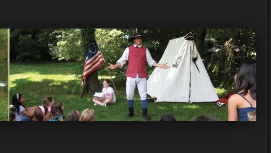 """Now that we've seen the slave quarters, we'll practice kneeling while I recite the pledge of ALLEGIANCE"