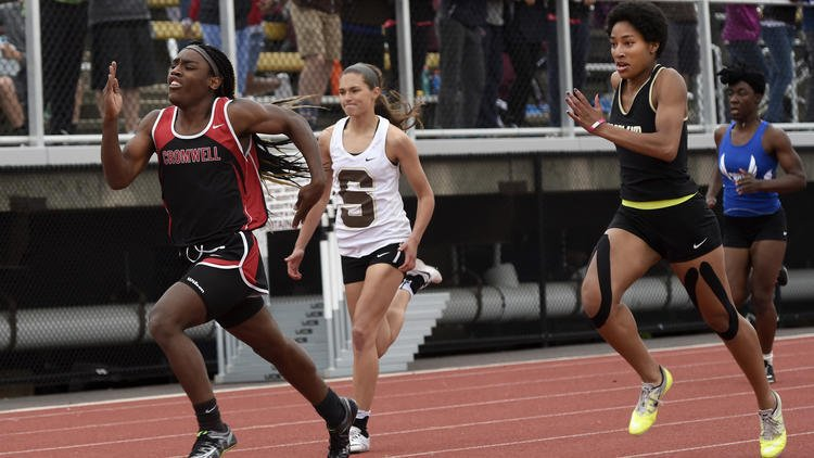 "A mustachioed ""Andraya"" yearwood triumphs over her fellow female competitors (Runner ""S"" doesn't look very happy about the situation, but i'm sure she's now in college and has been woked to intersectionality, white privilege, and ... whatever )"