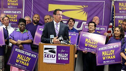 We don't need no stinkin' concrete bridges, we're building bridges to our valued union friends!