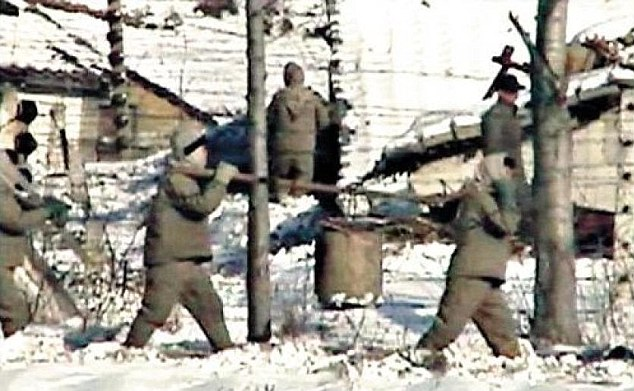 "North Korean camping adventure for political prisoners — stop picking on the ""Democratic People's Republic of Korea"" !"
