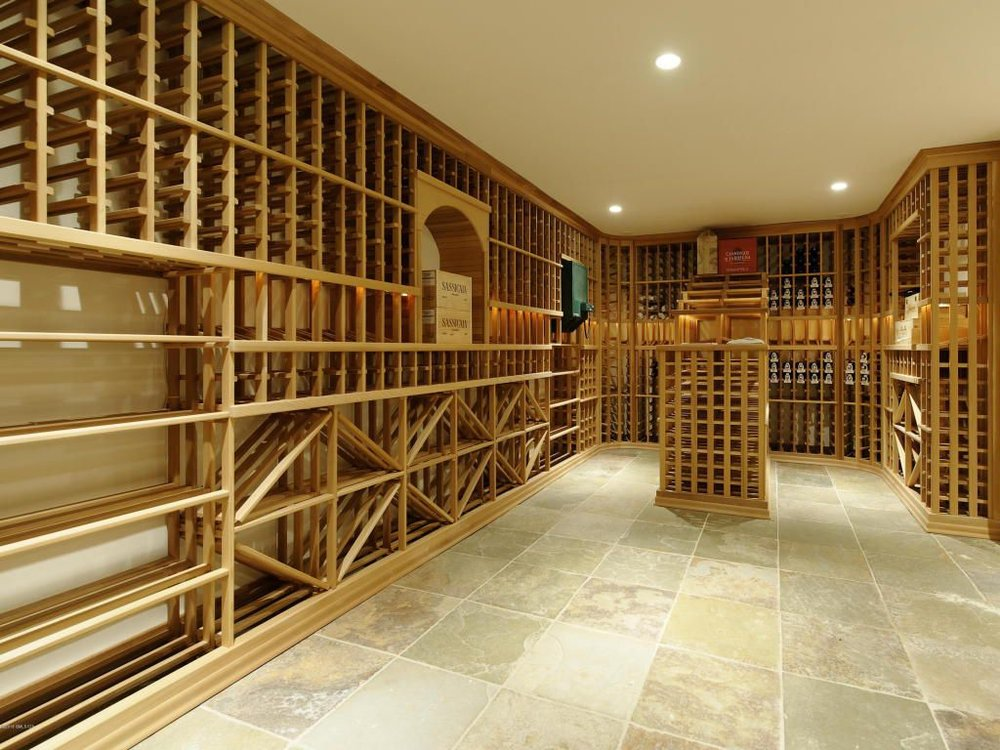 Like almost every other wine cellar in Greenwich, wasted space. Do we all just drink gin?