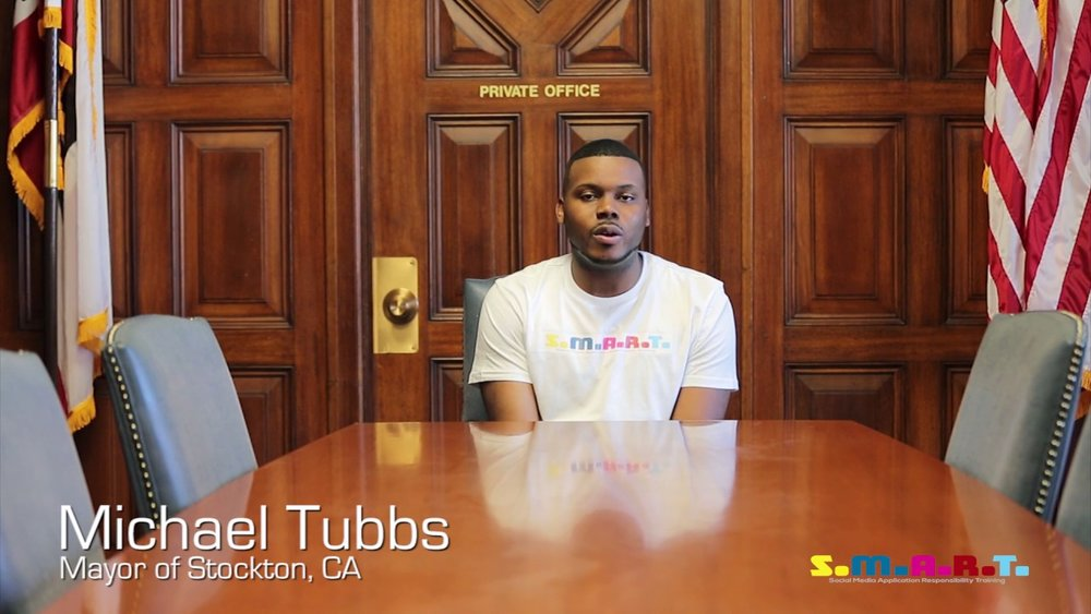 26-year-old boy wonder and mayor of stockton,michael tubbs