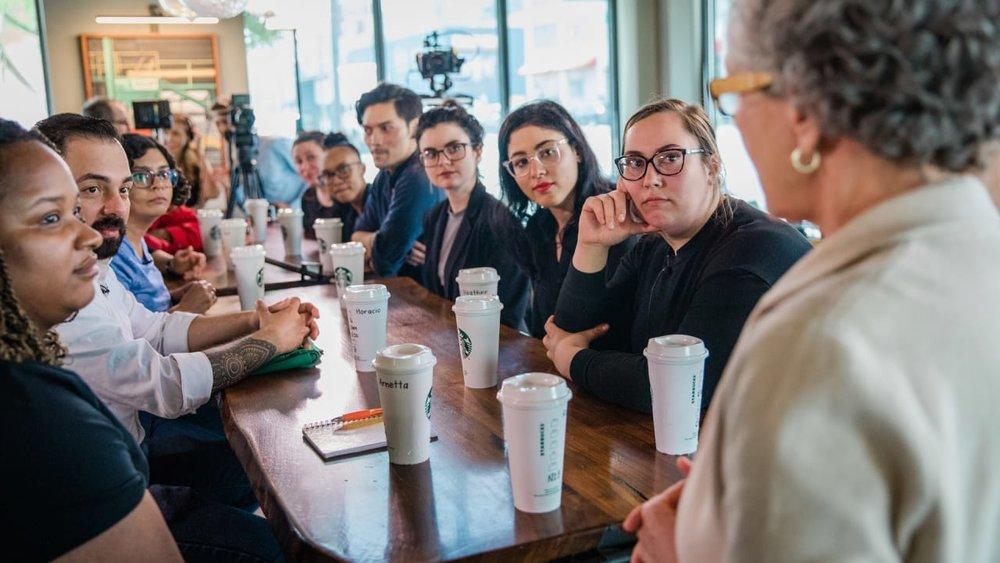 Starbucks reeducation camp, 2018
