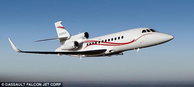 Michael Bloomberg's private jet, Dassault Falcon, $24 million. MPG undisclosed