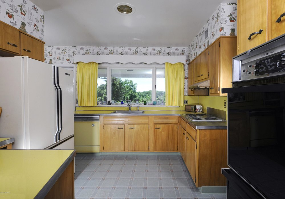 Yellow Formica is the new black granite