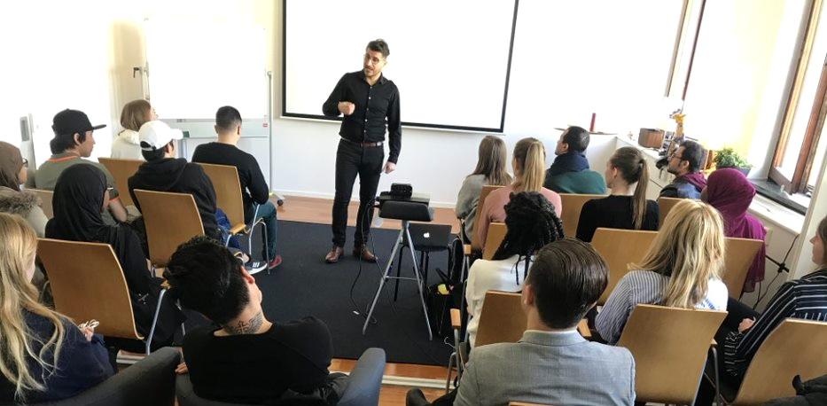 Inspirationsföreläsning med Charbél Gabro i Göteborg.