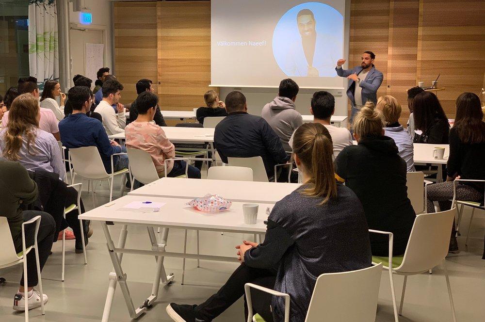 Inspirationsföreläsning med Naeef Almezel, Stockholms Universitet.