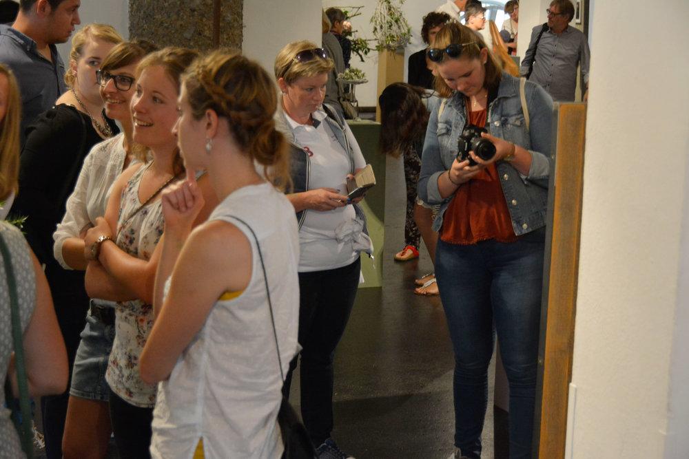 Trotz Ferienzeit war die Ausstellung an beiden Tagen sehr gut besucht – Floristen aus aller Welt reisten an und liessen sich begeistern und inspirieren.