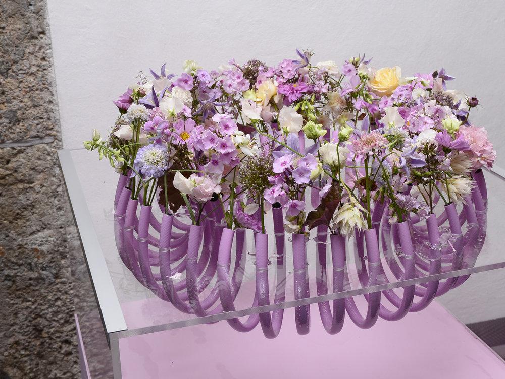 Valentina Messmer verknüpfte Innovation und die Zuneigung zu zarten Blütenformen.