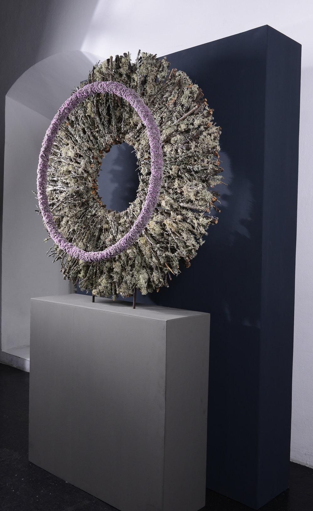 Verena Irsslinger stellte die schmalste aller Ringformen der breitesten aller Ringscheiben gegenüber.