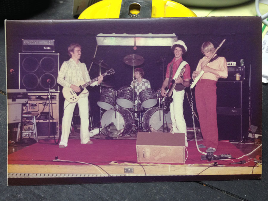 Chautauqua Road Band circa 1976