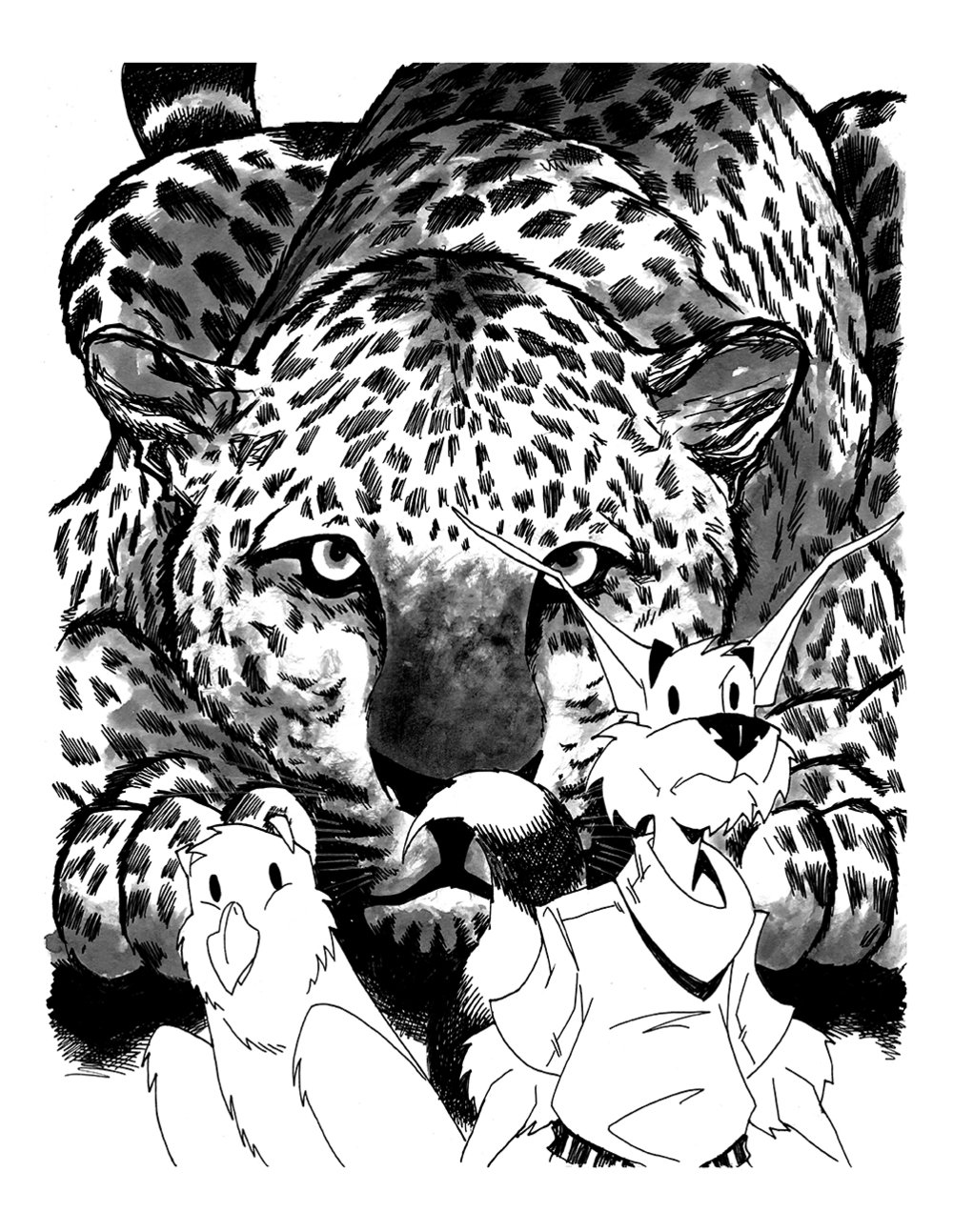 HERO Book One Pinup JAGUARS