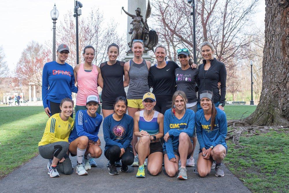 Team Sugar Runs meet up and shake out run.