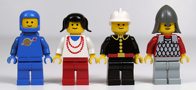 Lego® People - Lego is a registered trademark of The Lego Group.