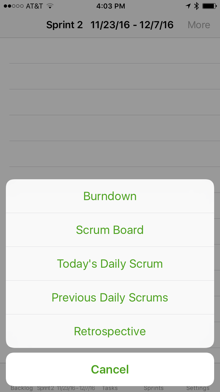 More Options to Record Daily Scrums and Sprint Retrospectives
