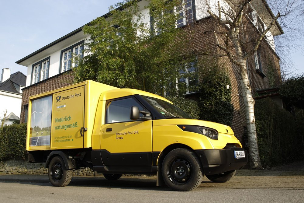 Deutsche Post StreetScooter Work
