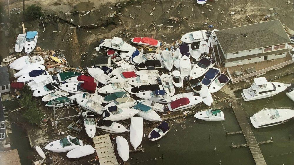 Superstorm Sandy aftermath