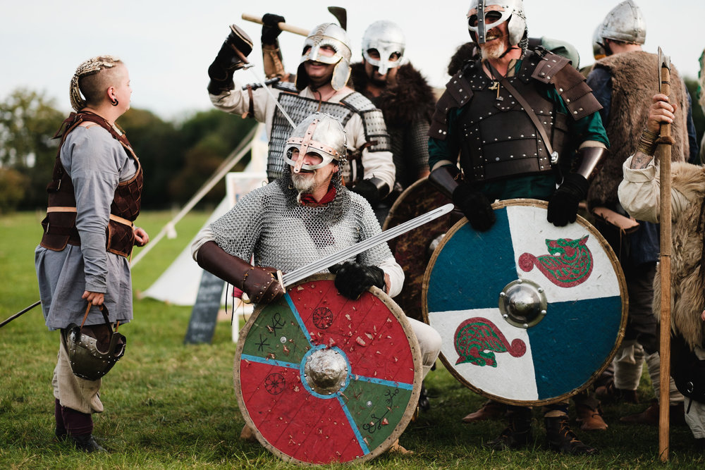 Vikings! Fujifilm XT-1 and 56mm 1.2 - Classic Chrome simulation