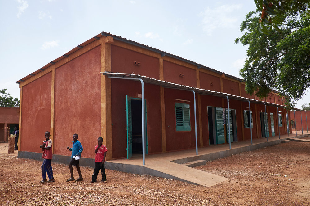 Burkina Faso School Construction & Equipment