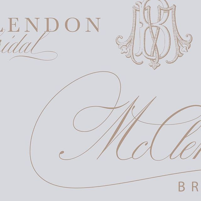 Brand Design Concepts for @mcclendonbridals. (Monogram by @empressstationery) Kim and Ginger did not miss a single details when it came to their branding. They have made sure that every part of the bridal experience is special from the shop down to the dress tags. If you are newly engaged, you need to visit my friends for your dream dress! You will have the most luxurious experience, all while staying in budget for your dress. What more could a bride ask for!