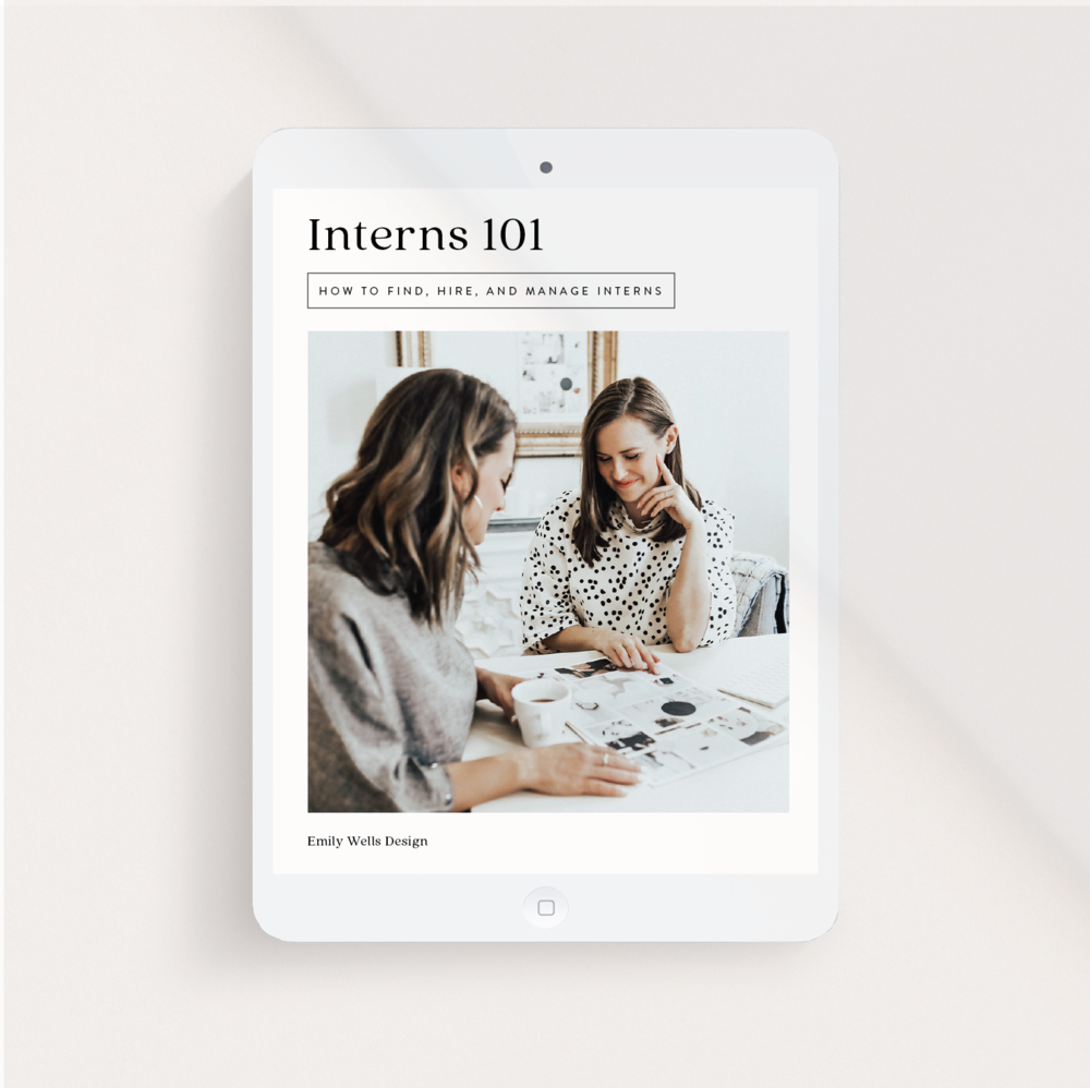 Interns 101 Course | $95