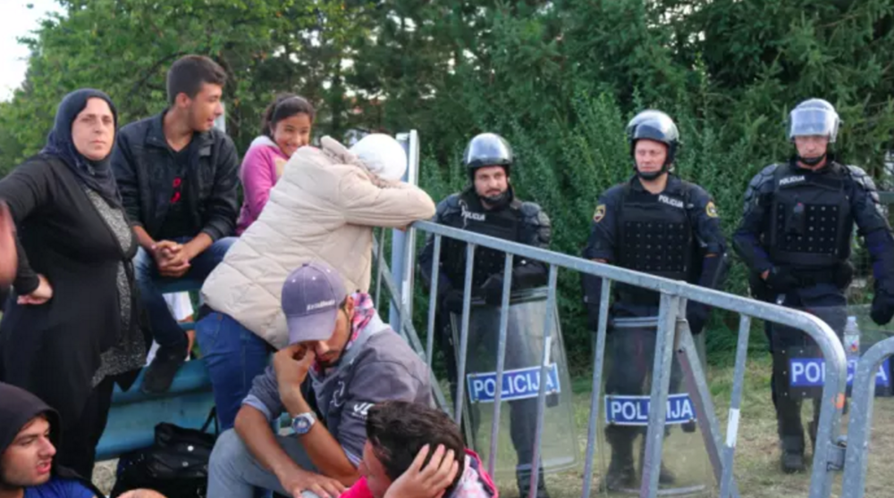 Refugees contend with false hope while stranded on the Slovenian border