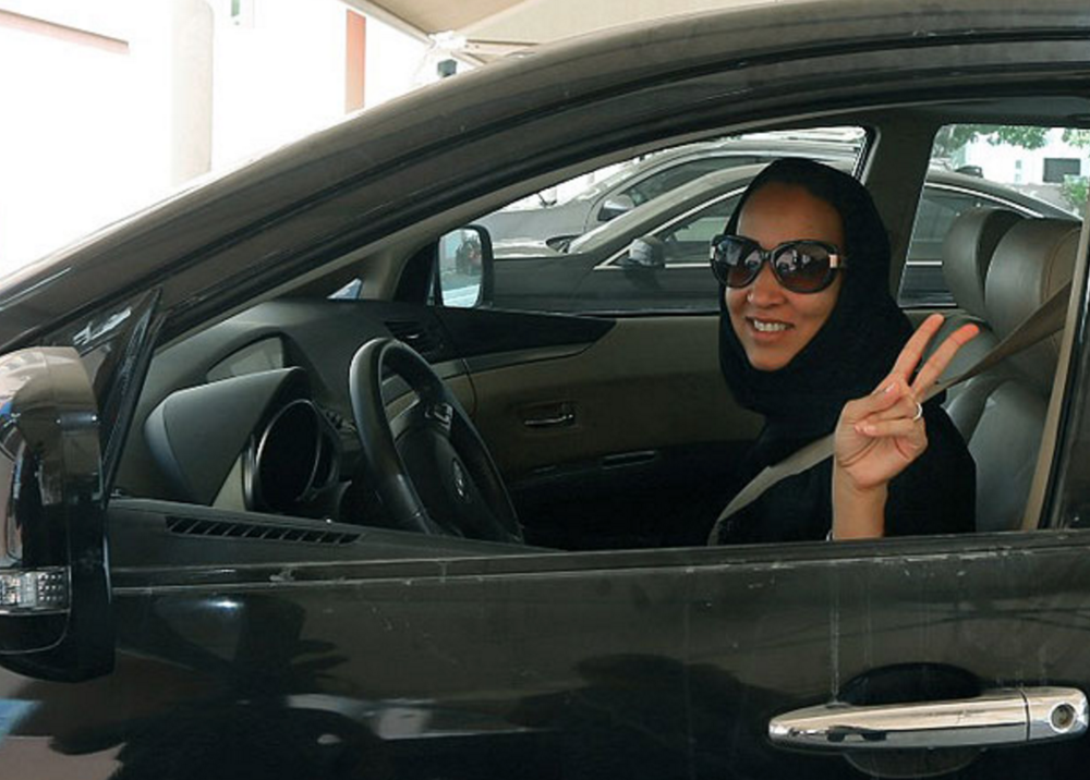 Don't bring Saudi women into your (misguided) argument against feminism