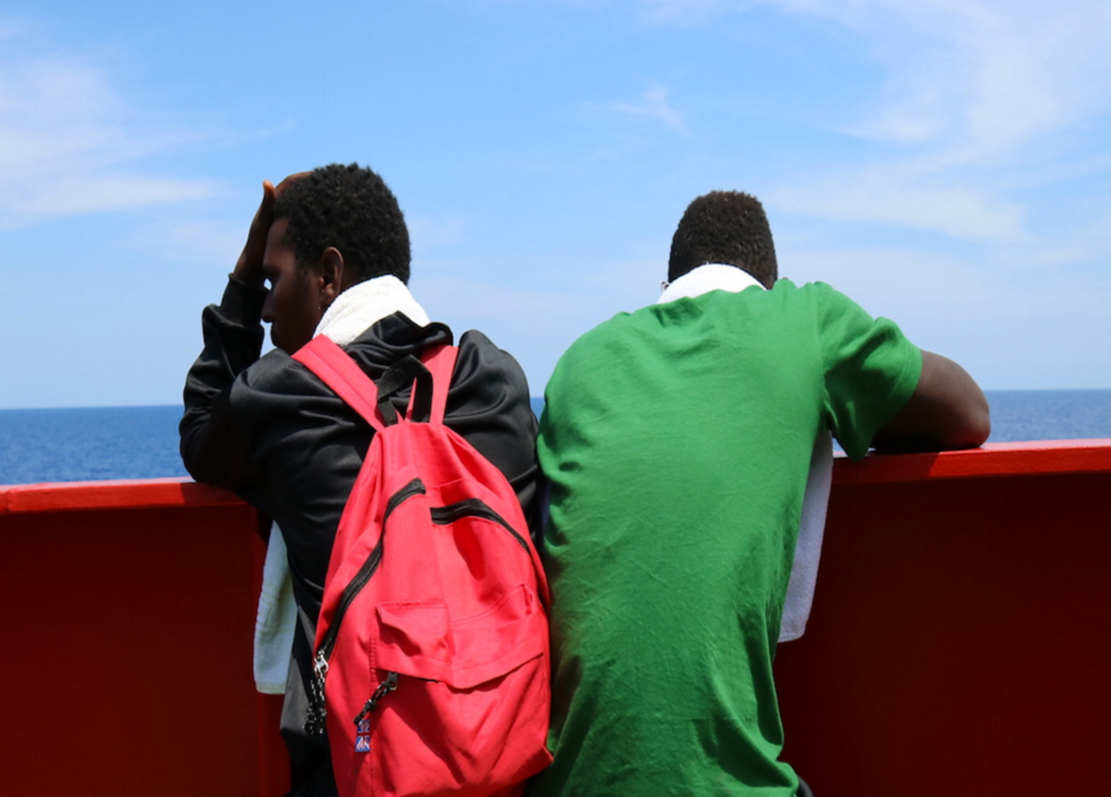 """We can't do this forever"": at sea with migrant rescuers"