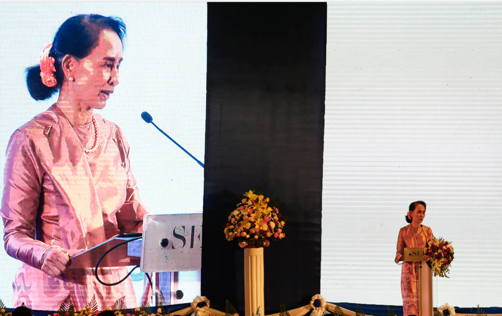 Aung San Suu Kyi and the state of Myanmar is silencing the media over the Rohingya crisis