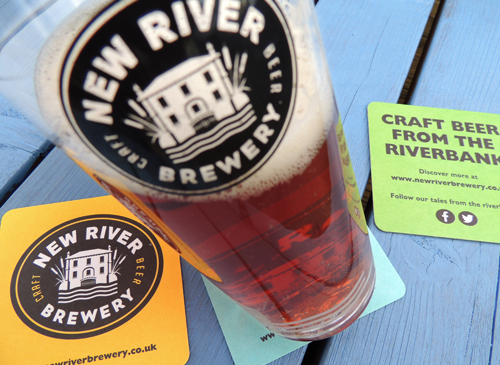 The New River Brewery  We're delighted to welcome local brewers, The New River Brewery who will be selling their bottled craft beers.  http://www.newriverbrewery.co.uk/