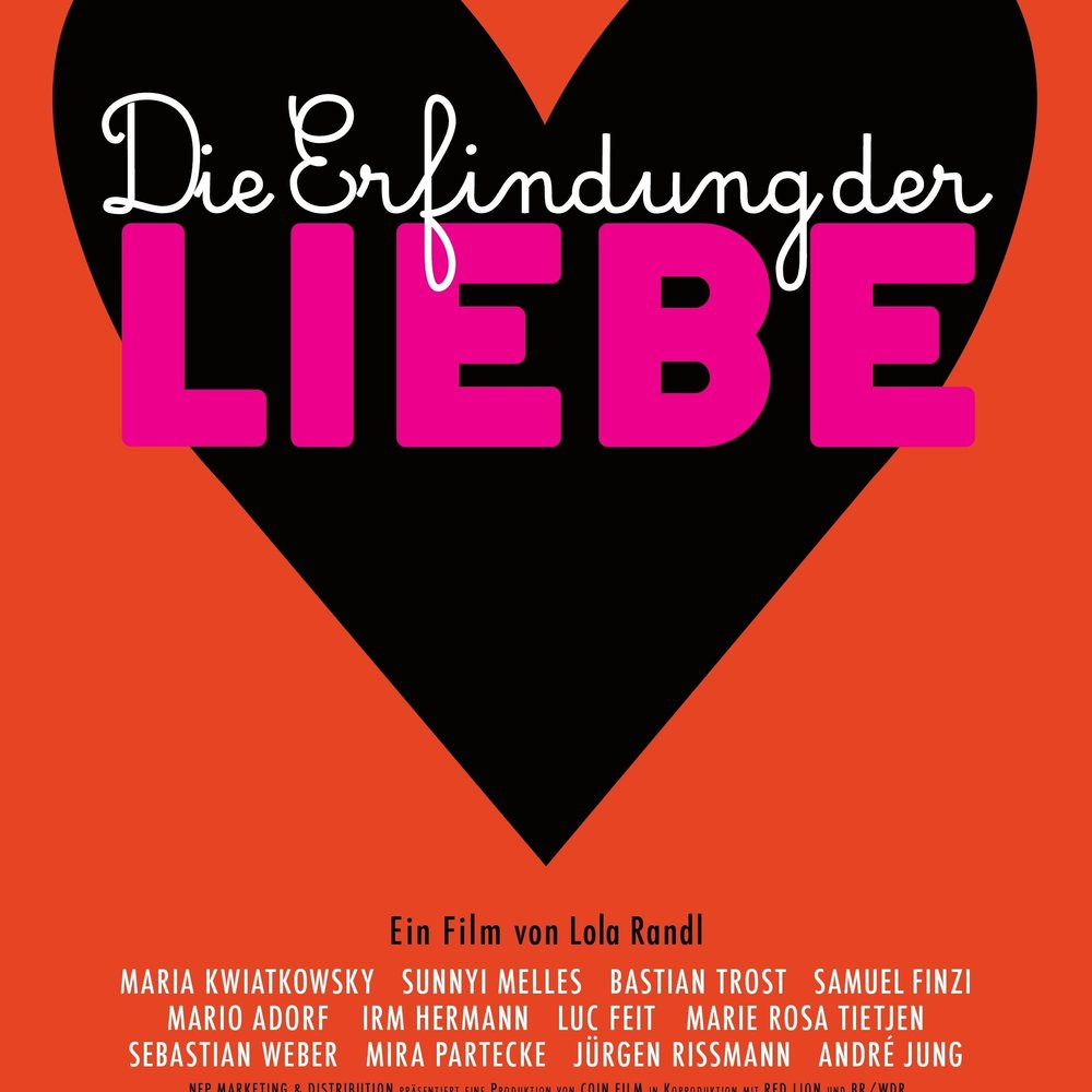 Die Erfindung deR LiEbe  (2015) MOVIE/DVD: film music by