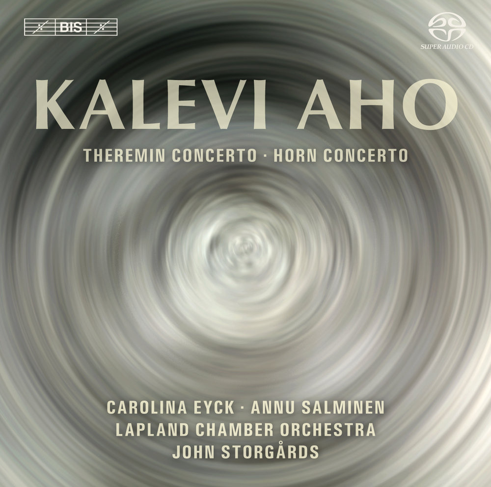 Kalevi Aho_Theremin and horn concerto_CDCover