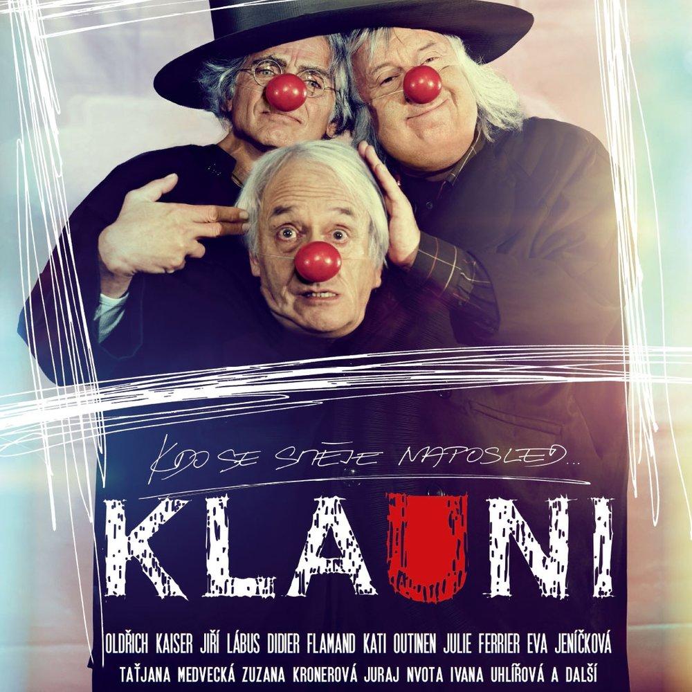 CLOWNWISE / KLAUNI  (2014) MOVIE/DVD: film music by Petr Ostrouchov ©Fog'n'Desire Films