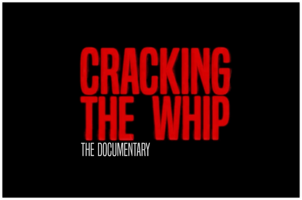 Screenshot from Cracking The Whip Documentary Short Trailer