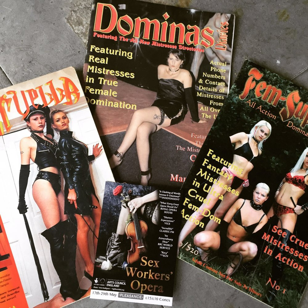 Charlotte's Magazines and Modelling
